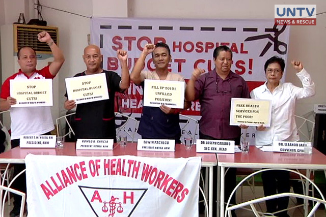 IMAGE_UNTV_NEWS_083017_ALIANCE OF HEALTH WORKERS