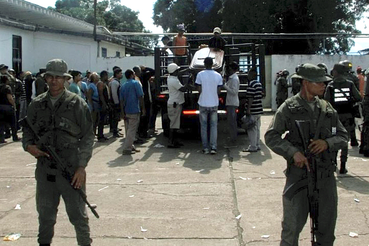 More than 35 dead in mutiny at Venezuelan jail, governor says