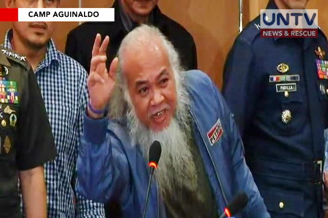 Hostaged Marawi priest Chito Soganub rescued