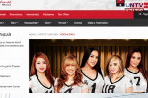 IMAGE_UNTV_NEWS_090717_MOCHA GIRLS