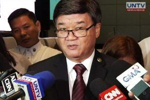 Justice Secretary Vitaliano Aguirre