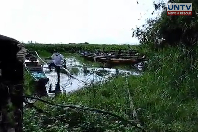 Laguna Lake where the body was found