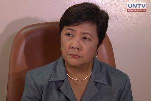 former Gabriela Rep. Luz Ilagan as DSWD Undersecretary