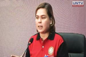 Davao Mayor Sara Duterte Carpio