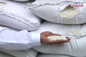 Sacks of glutinous rice