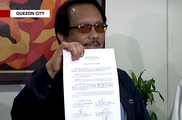 House tackles impeach raps vs Sereno, Bautista