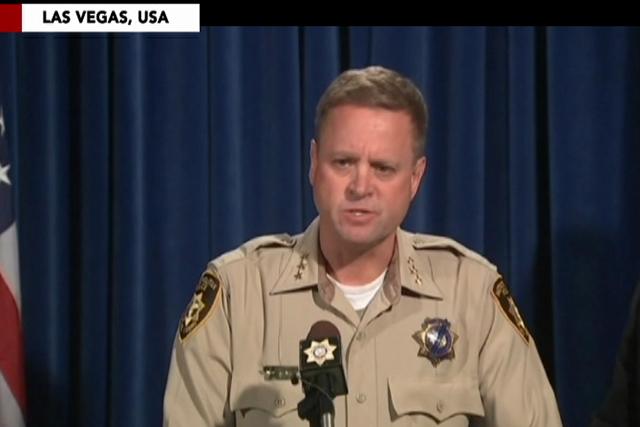 Las Vegas gunman fired at security guard before mass shooting