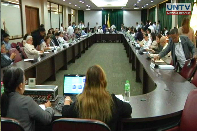 House committee found sufficient grounds for Sereno impeachment