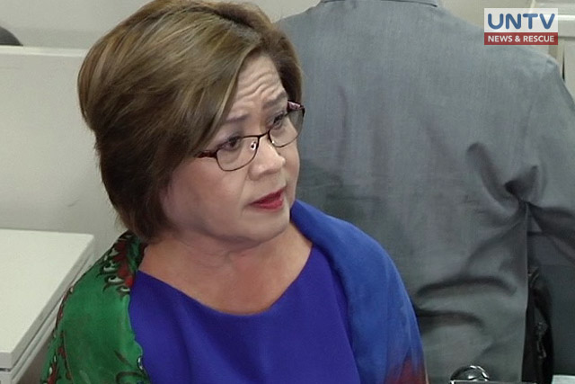 'Sad and pained' De Lima to appeal court's decision on arrest