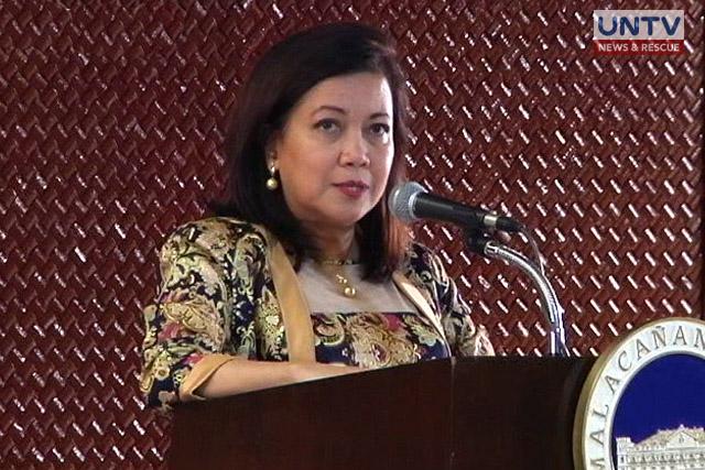 Supreme Court Chief Justice Maria Lourdes Sereno
