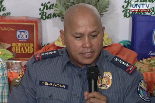 "PNP Chief Director General Ronald ""Bato"" dela Rosa"