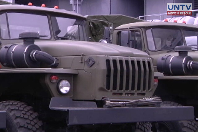 IMAGE_UNTV_NEWS_102517_Military trucks from Russia