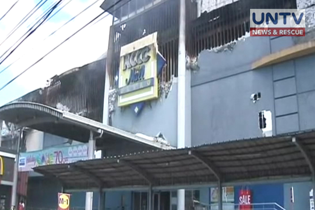 BFP continues retrieval operation to victims of deadly fire in NCCC Mall in Davao City