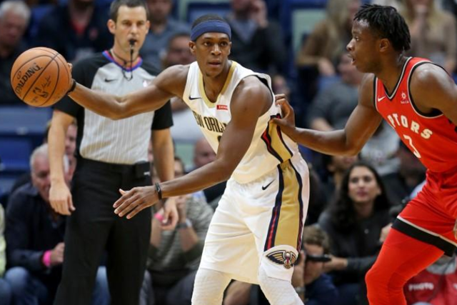 Rajon Rondo posts career-high and Pelicans franchise record 25 assists