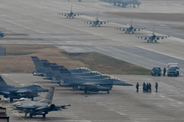 South Korea, US kick off large-scale air exercise amid North Korean warnings