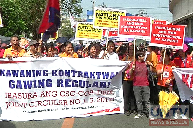 Meeting between Duterte, labor groups will not push through