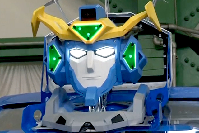 Japanese company builds working 'Transformers'-like robot that turns into a auto