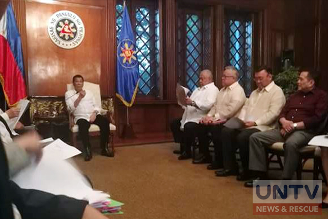 Duterte orders NFA transfer to Department of Agriculture