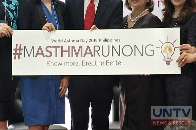 Health advocates uniting under #MASTHMARUNONG the advocacy of providing asthma education