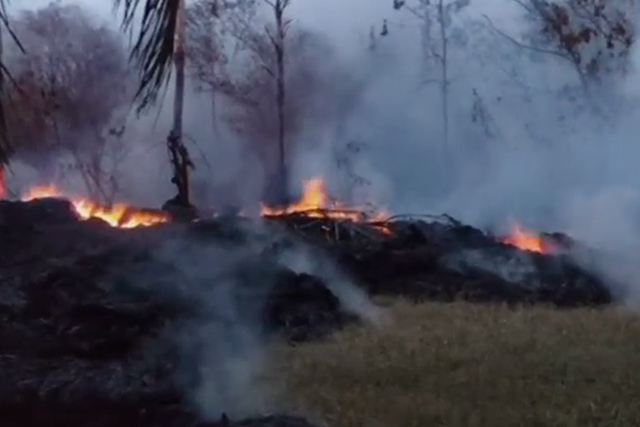 Hawaii volcano eruption prompts toxic gas alert on Big Island