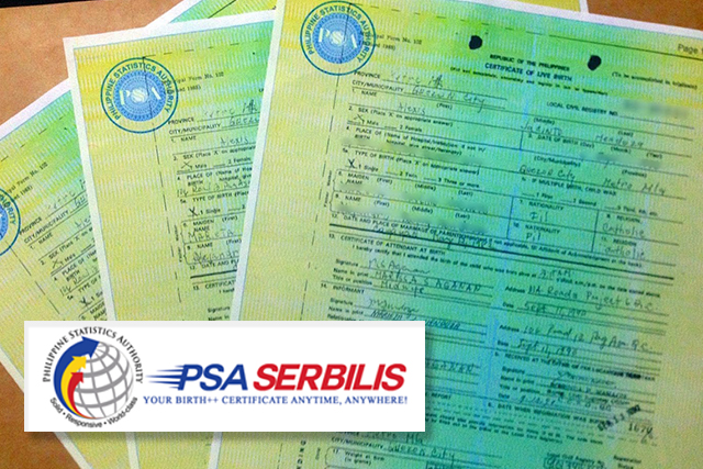psa philippines philippine authority statistics july manila offline nso birthcertificate advises copies lodge applications documents agency untv