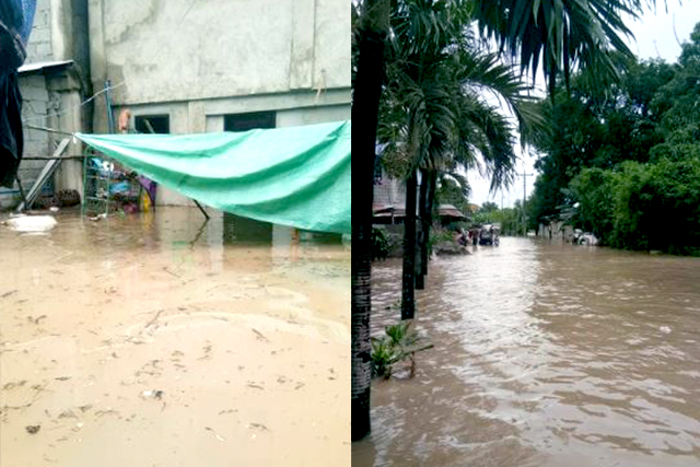 Floodwaters inundate roads in Pangasinan, 7 towns not passable