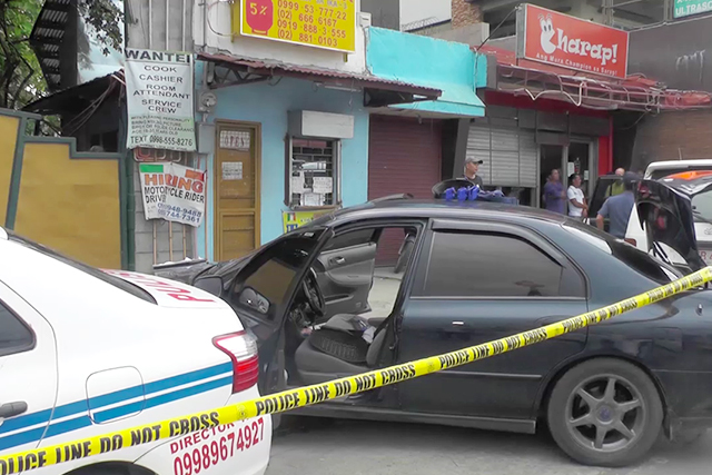 Riding in tandem killed in an encounter with Cainta police