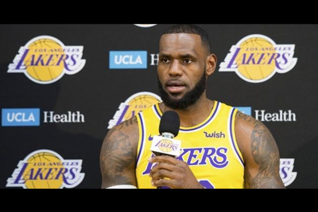 28391296e9c1 NBA - LeBron tempers expectations ahead of first season with Lakers - UNTV  News