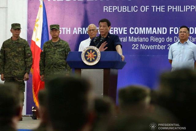 Duterte wants immediate passage of mandatory ROTC - UNTV News | UNTV