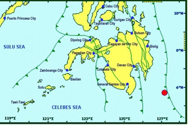 7.0-magnitude quake  rocks Philippines