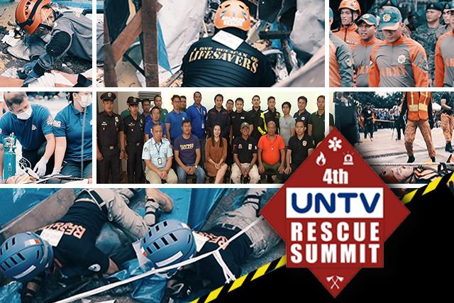 Tough rescue competition to mark 4th UNTV Rescue Summit
