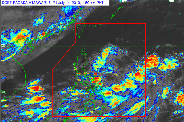 Typhoon Ompong enters the Philippine area of responsibility