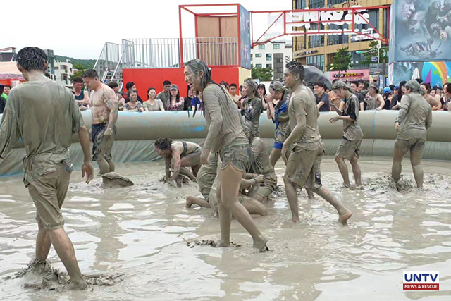 South Korea gets wild and dirty in annual Boryeong Mud