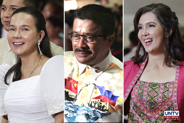 IN PHOTOS: Lawmakers go local with dresses for Duterte's