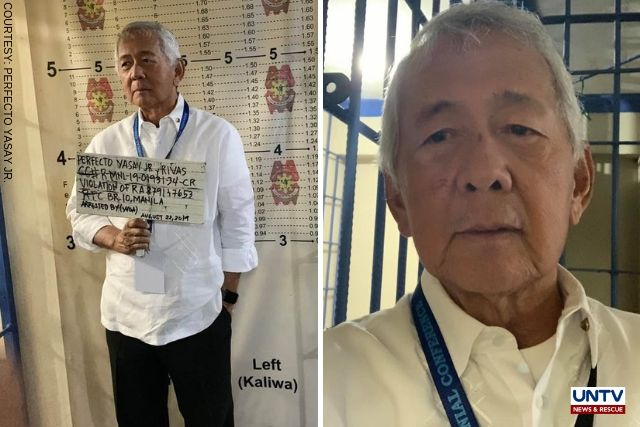 MPD serves warrant of arrest to ex-DFA Sec Yasay - UNTV News