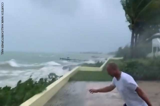 Hurricane Dorian: Destruction as storm hits Bahamas