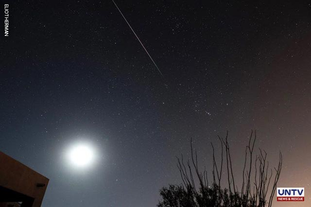 The Leonid meteor shower peaks this weekend