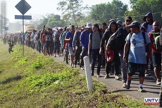 'No human rights': Mexico blocks migrant caravan headed north