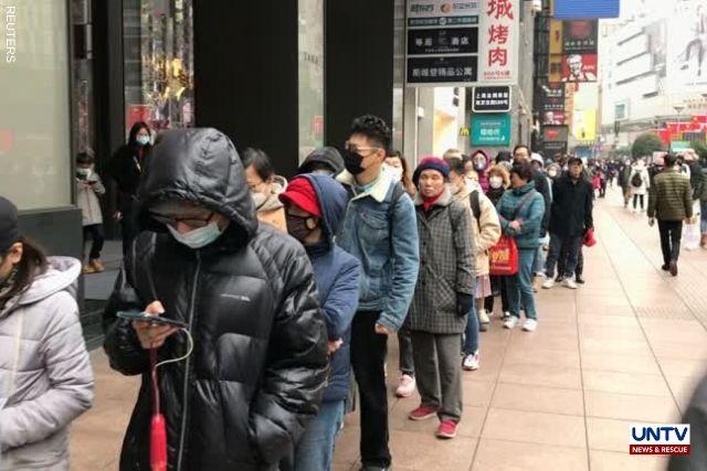 - For Shanghai Masks Spreads Virus In As News Queue Untv Hundreds