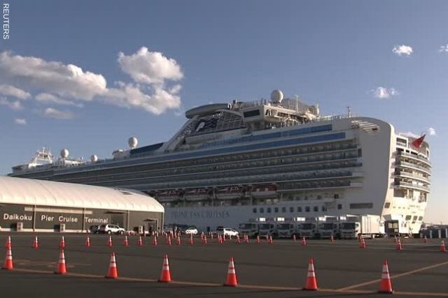79 new cases of Coronavirus detected on Japan cruise ship