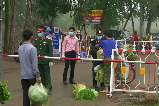 Vietnam Quarantines Commune with 10,000 Residents Amid Virus Scare