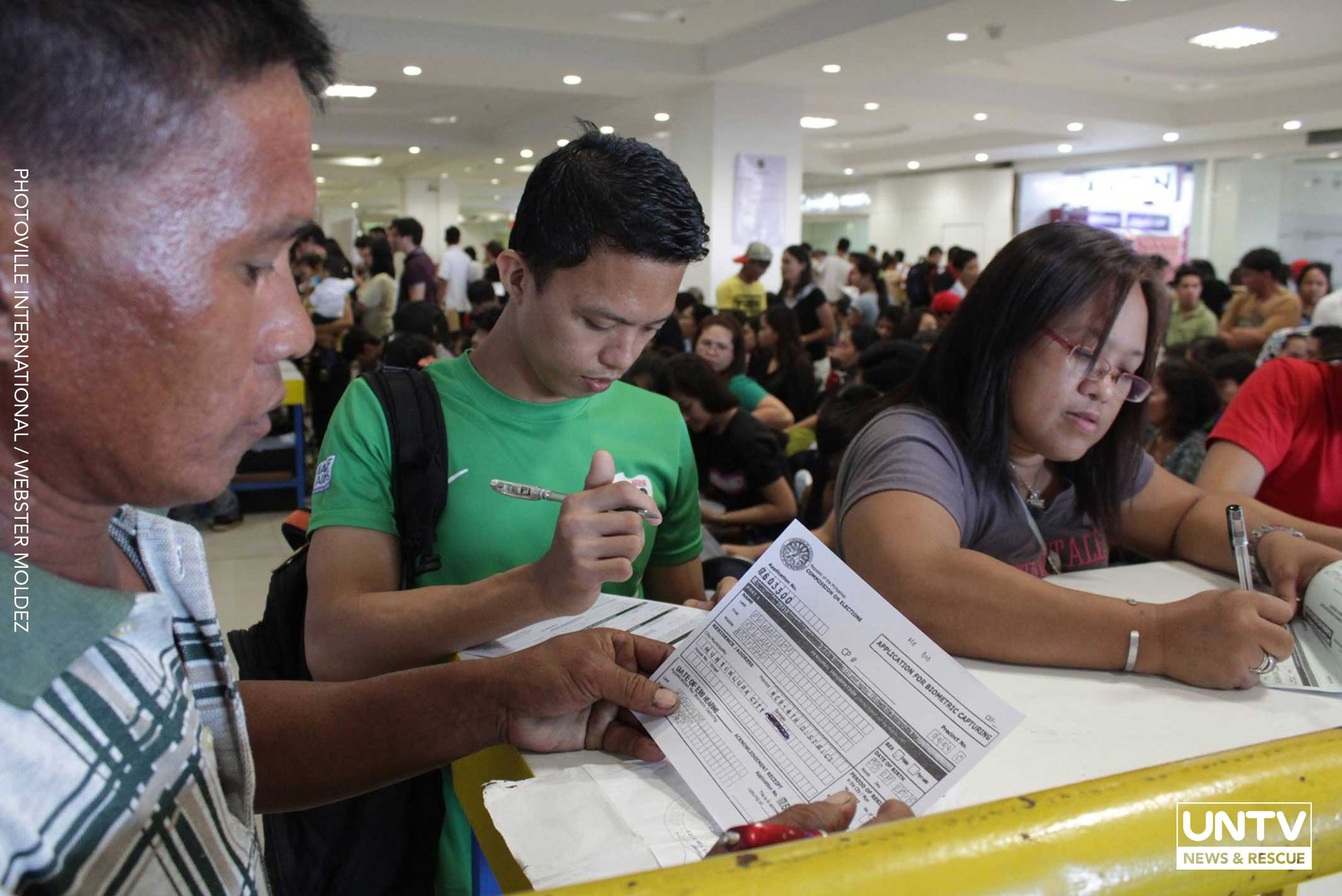Comelec reminds new voter registrants to observe protocols vs COVID-19 - UNTV News - UNTV News