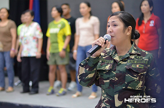 Air Woman Angelica Magsanoc will be one of the AFP soloists who will take the concert stage on June 30.