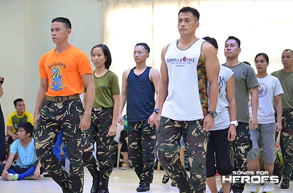 Apart from song performances, the AFP and PNP are also preparing for a dance number that will surely leave an impressive mark.