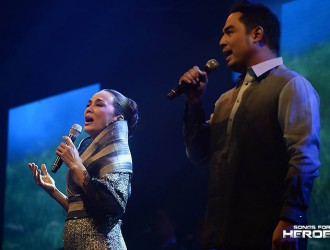 Kuh Ledesma and Jed Madela lend their vocal prowess to pay tribute to the country's defenders.