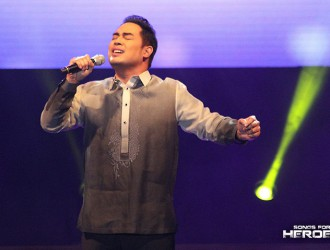 The iconic Jed Madela gives an all-out performance in honor of the country's defenders.