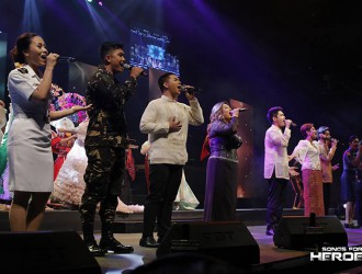After partaking in the first Songs for Heroes concert, 5th Gen returns to the concert stage, this time, with some of the best soloists from the AFP and PNP.